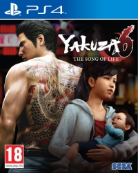 Arvostelun Yakuza 6 – The Song of Life kansikuva
