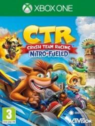 Arvostelun Crash Team Racing Nitro-Fueled kansikuva
