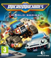 Arvostelun Micro Machines World Series kansikuva